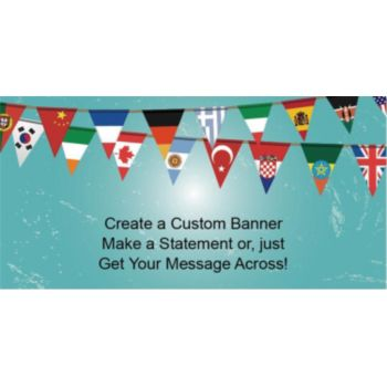 International Pennants Custom Banner