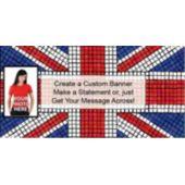 Union Jack Custom Photo Banner