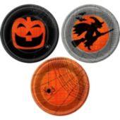 Spooky Fun  7'' Plates