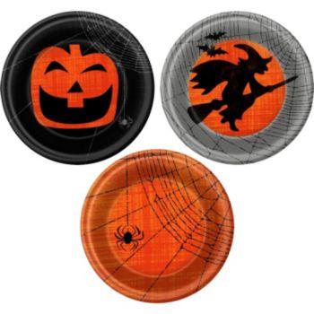 "Spooky Fun  7"" Plates"