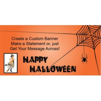 Spooky Fun Custom Photo Banner
