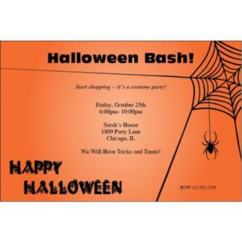 Spooky Fun Personalized Invitations
