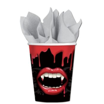 Fangtastic 9 Ounce  Paper Cups