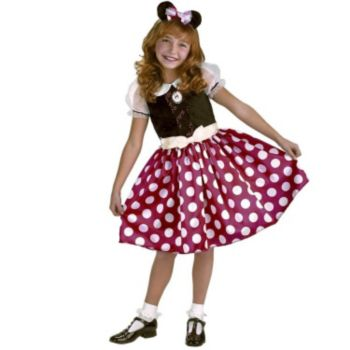 Disney Minnie Mouse Toddler  Child Costume