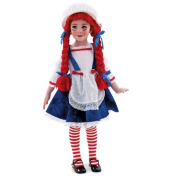 Yarn Babies Rag Doll Girl Toddler  Child Costume
