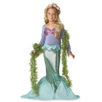 Lil' Mermaid Toddler  Child Costume