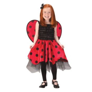 Lady Bug with Wings Toddler  Child Costume