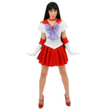 Sailor Moon Sailor Mars Teen Costume