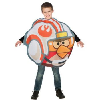 Rovio Angry Birds Fighter Pilot Luke Child Costume