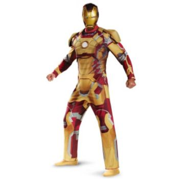 Iron Man 3 Mark 42 Deluxe Plus Size Adult Costume