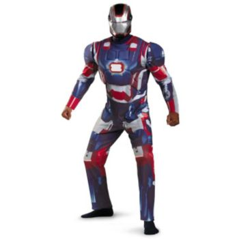 Iron Man 3 Patriot Deluxe Plus Size Adult Costume