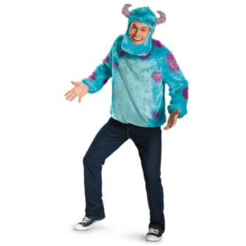 Monsters University Sully Deluxe Adult Costume