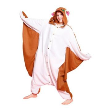Bcozy Flying Squirrel Adult Costume