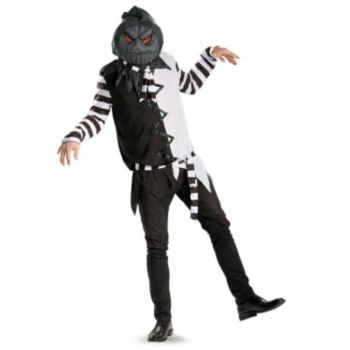 Creepy Jack-O-Lantern Adult Plus Size Costume