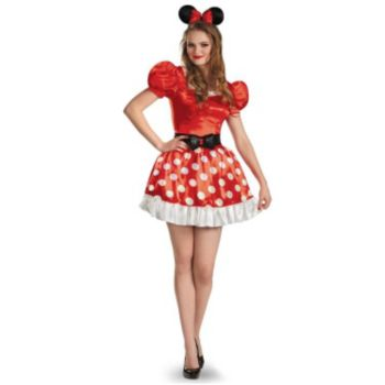 Minnie Mouse Classic Plus Size Adult Costume