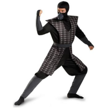 Evil Ninja Black Adult Plus Costume