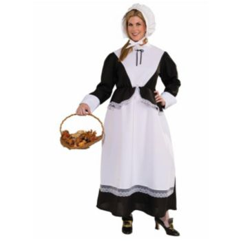 Pilgrim Woman Adult Plus Size Costume
