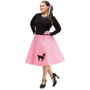 Adult Poodle Skirt Plus Size