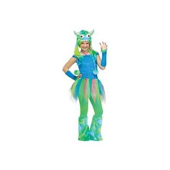 Blue Beasty Teen Size Costume