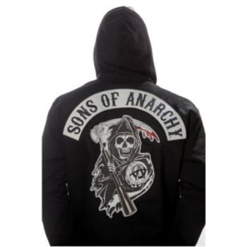 Sons Of Anarchy Mens Highway Jacket Plus Size