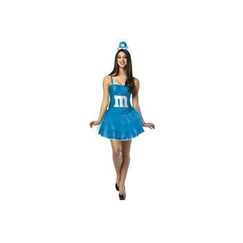 M&M's Blue Adult Party Dress