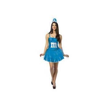 M&M's Blue Adult Party Dress