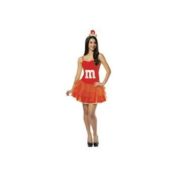 M&M's Red Adult Party Dress