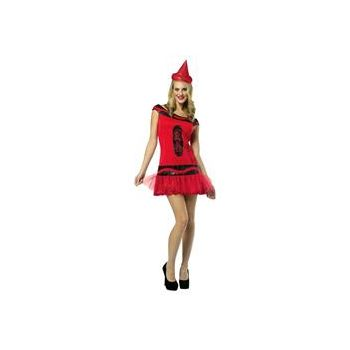 Crayola Big Dip O Ruby Glitz & Flitter Adult Dress