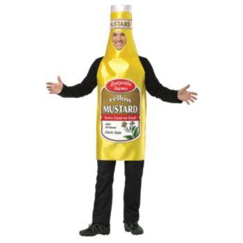 Zestyville Mustard Adult Costume