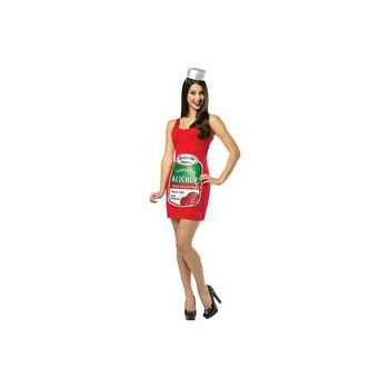 Zestyville Ketchup Adult Tank Dress