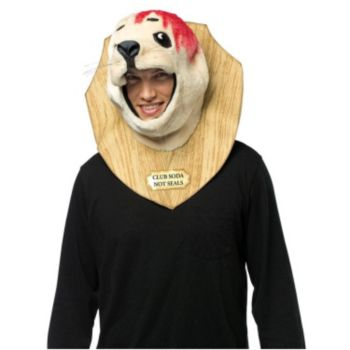 Baby Seal Trophy Adult Costume