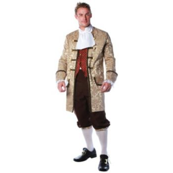 Colonial Man Plus Adult Costume