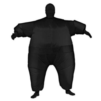 Black Inflatable Adult Suit