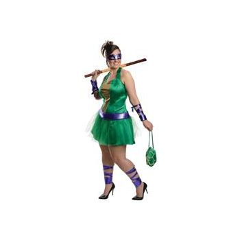 Teenage Mutant Ninja Turtles Donatello Adult Plus Size Dress