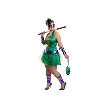 Teenage Mutant Ninja Turtles Donatello Adult Plus Size Dress