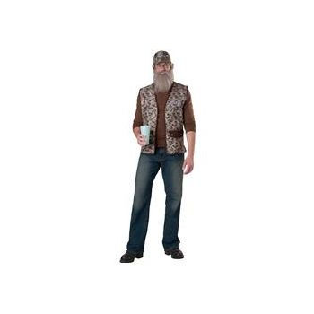 Duck Dynasty-Uncle Si Adult Costume