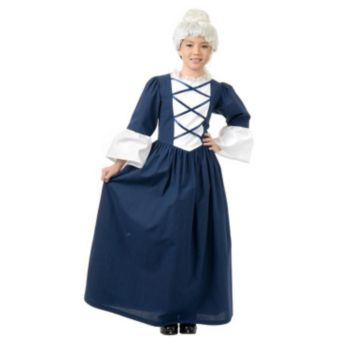 Child Martha Washington Costume