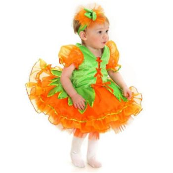 Pumpkin Princess Infant  Toddler Costume