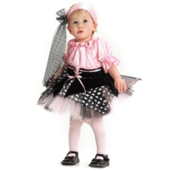 Little Pirate with Scarf Infant  Toddler Costume