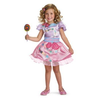 Candy Land Girl Classic Toddler  Child Costume