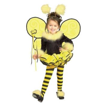 Bumblee Bee Toddler  Child Costume