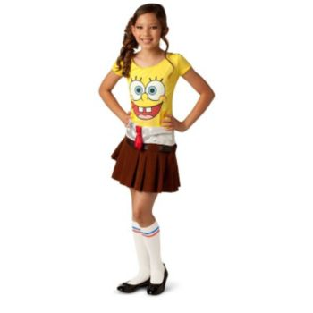 Spongebob Girl Toddler  Child Costume