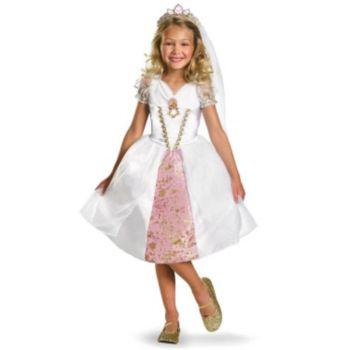 Disney Tangled Rapunzel Wedding Gown Child Costume