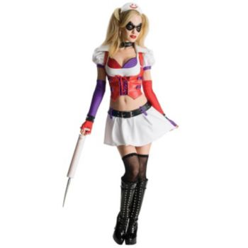 Batman Arkham City Asylum Harley Quinn Adult Costume