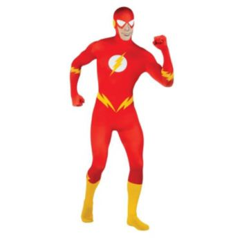 DC Comics 2nd Skin Flash Adult Costume