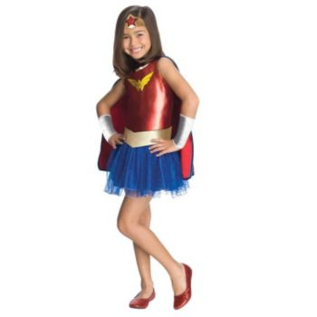Wonder Woman Tutu Child Costume