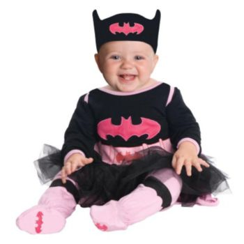 Batgirl Onesie Infant Costume
