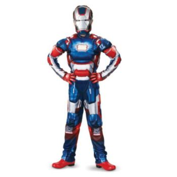 Iron Man 3 Patriot Classic Muscle Costume