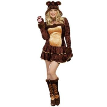 Bear Hugs Adult Plus Costume