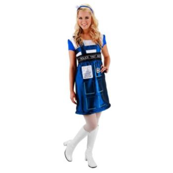 Dr. Who Adult Tardis Dress